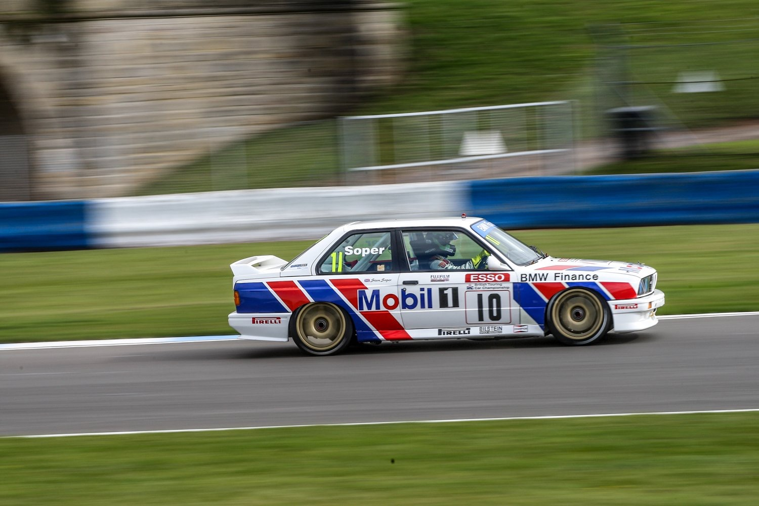 BMW STAR TO RACE AT SILVERSTONE CLASSIC