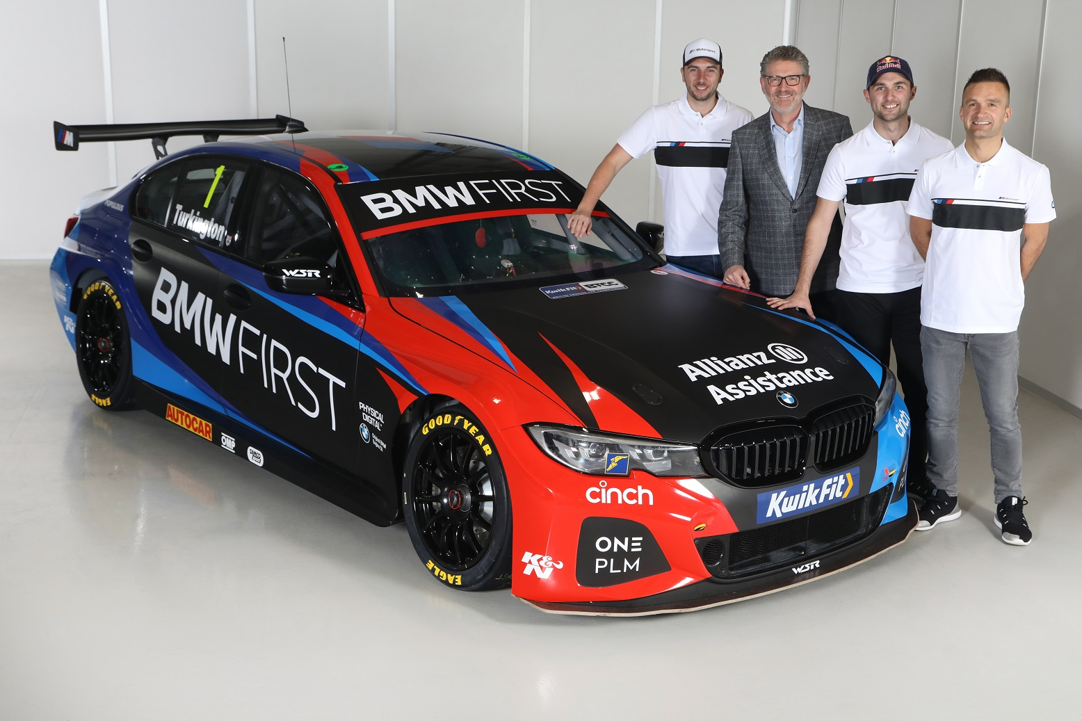 TEAM BMW REVEAL NEW LOOK FOR 2020